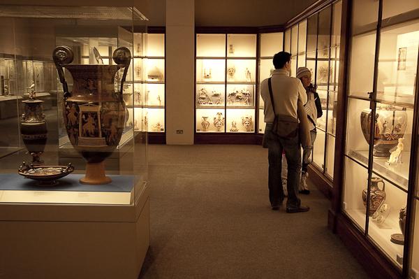 Fran y Lorena en el museo Británico