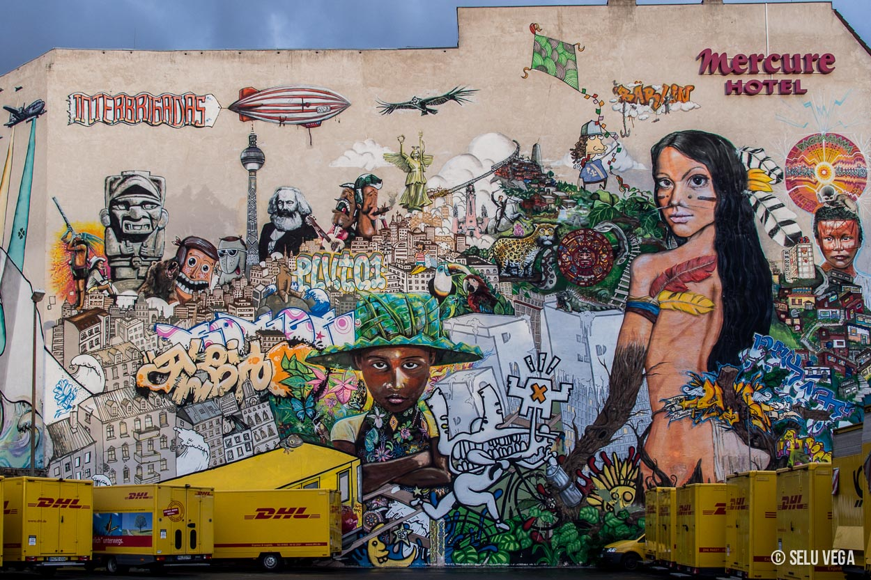 Graffiti Callejero en Berlin